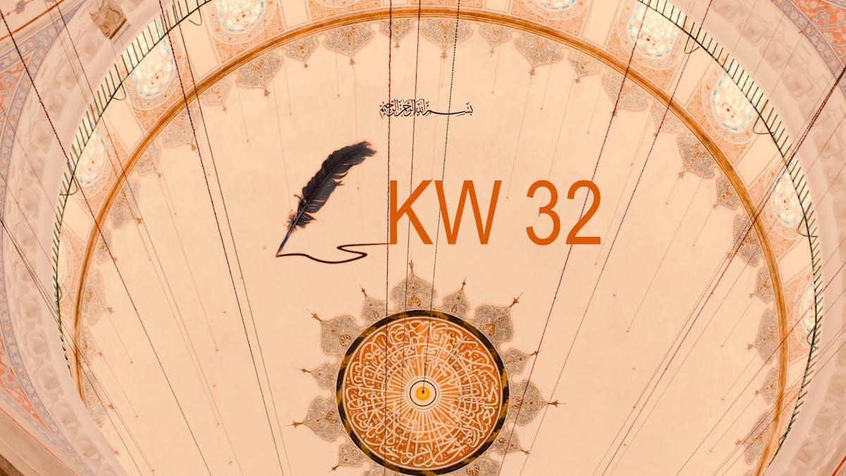 Weisheiten für Kalenderwoche 32 - avantgart.de